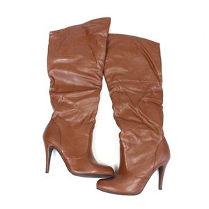 Slouchy Heeled Boots {ShoeDazzle}